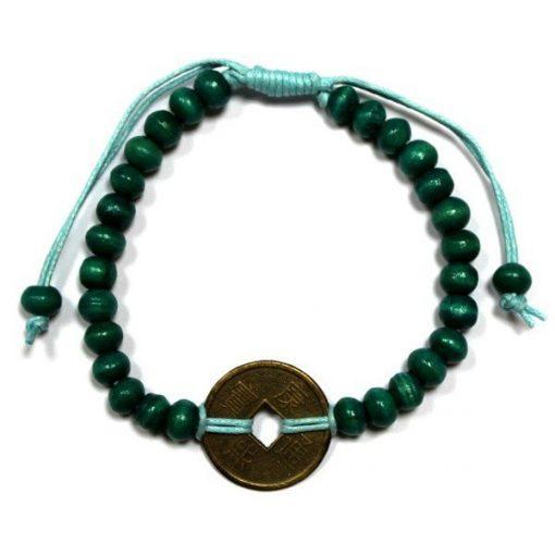Feng-Shui Szerencse Karkötők - Zöld