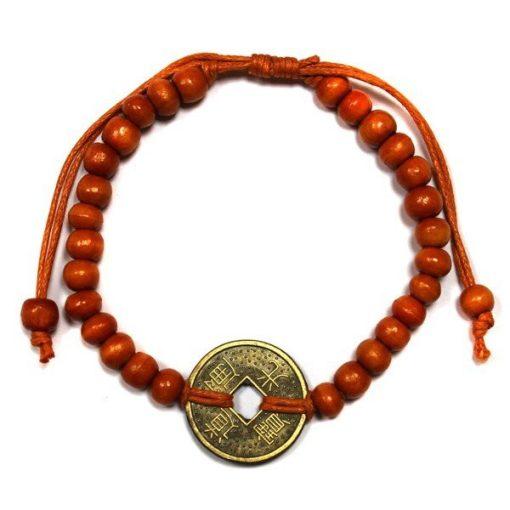 Feng-Shui Szerencse Karkötők - Narancsszínű