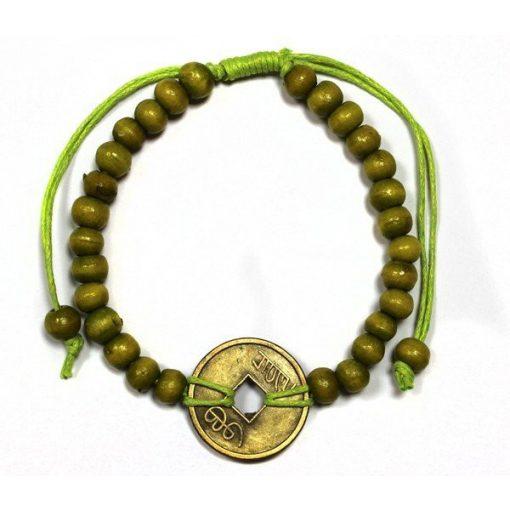 Feng-Shui Szerencse Karkötők - Zöldcitrom Színű