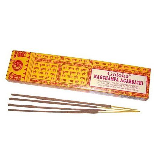 Goloka Nag Champa Füstölő Pálcikák 16g