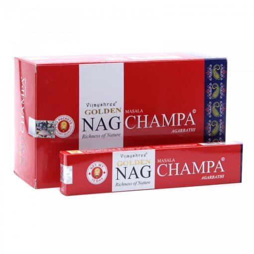 15g Golden Nag Füstölőpálcikák- Champa