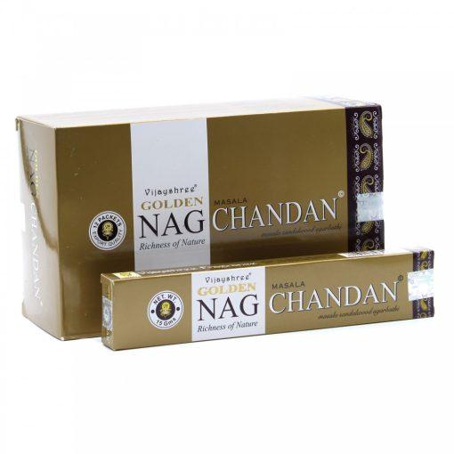 15g Golden Nag Füstölőpálcikák- Chandan