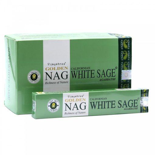 15g Golden Nag Füstölőpálcikák- Fehér Zsálya