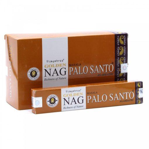 15g Golden Nag Füstölőpálcikák- Palo Santo