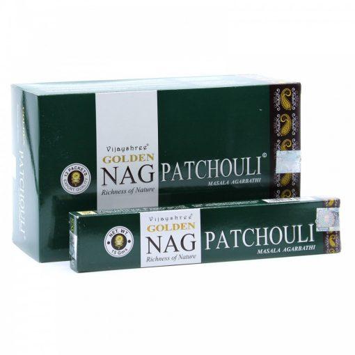 15g Golden Nag Füstölőpálcikák- Pacsuli