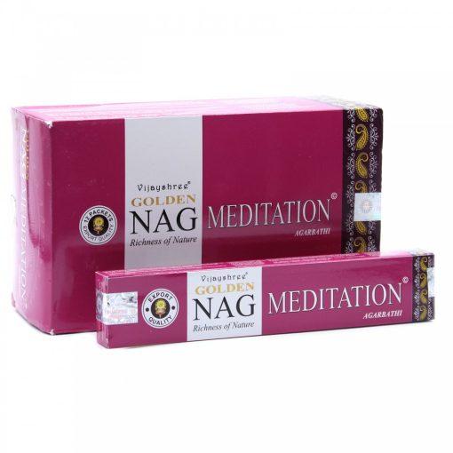 15g Golden Nag Füstölőpálcikák- Meditáció