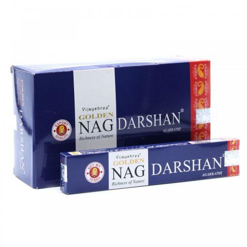 15g Golden Nag Füstölőpálcikák- Darshan