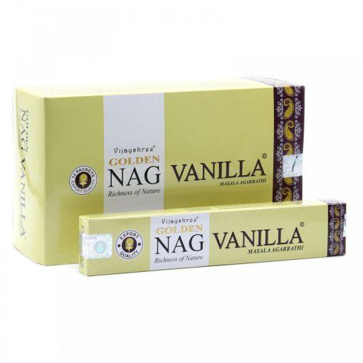 15g Golden Vanilla Füstölőpálcikák