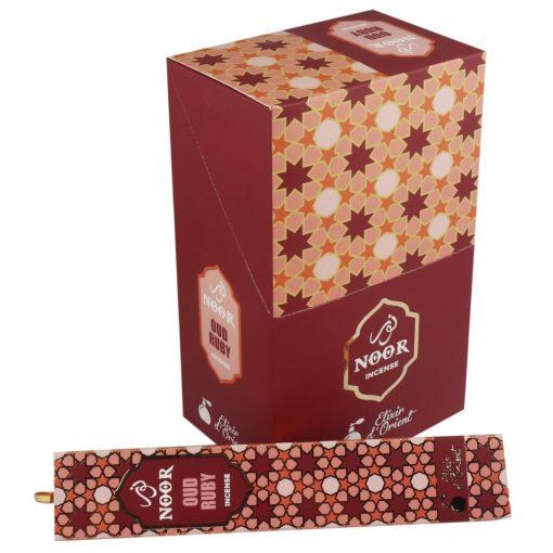 Noor Oud Füstölőpálcikák - Ruby