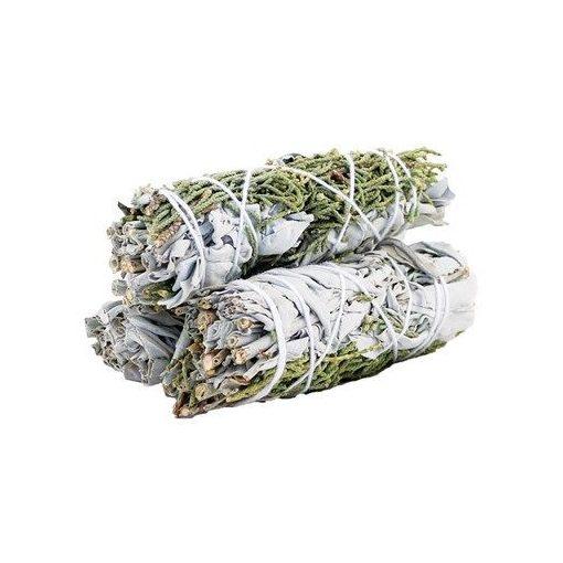 Füstölő Köteg - Fehér Zsálya & Boróka 10cm