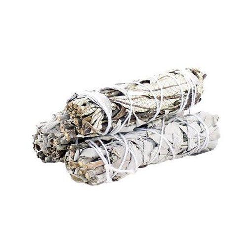 Füstölő Köteg - Fehér Zsálya & Yerba Santa 10cm