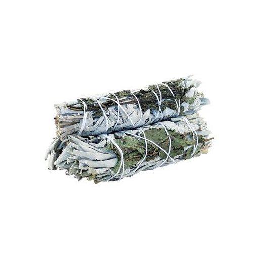 Füstölő Köteg - Fehér Zsálya & Borsmenta 10cm