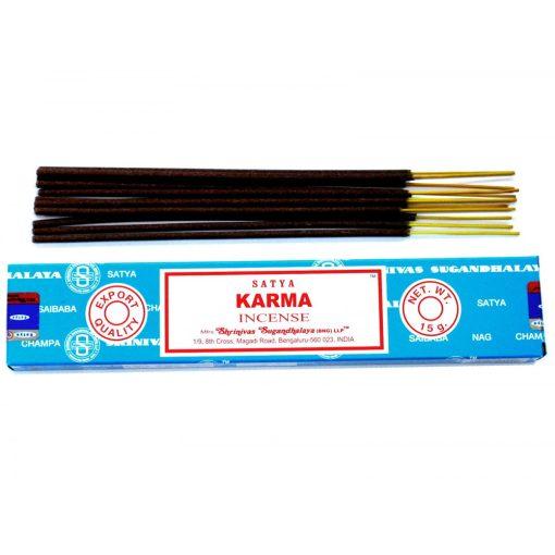 Satya Füstölőpálcikák15gm - Karma