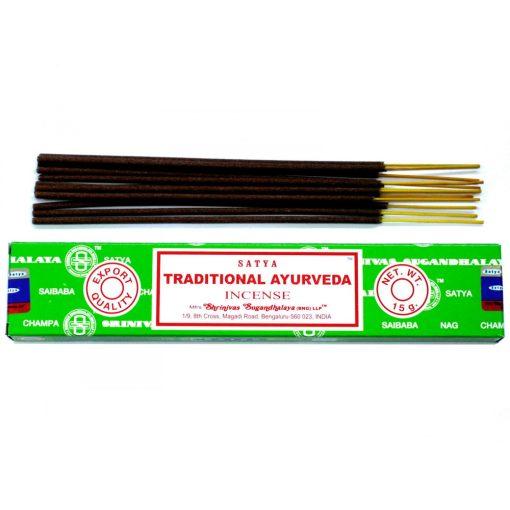 Satya Füstölőpálcikák15gm - Tradicionális Ajurvéda