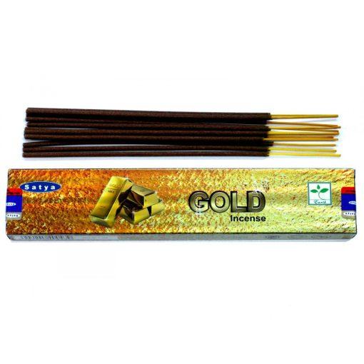 Satya Füstölőpálcikák15gm - Arany
