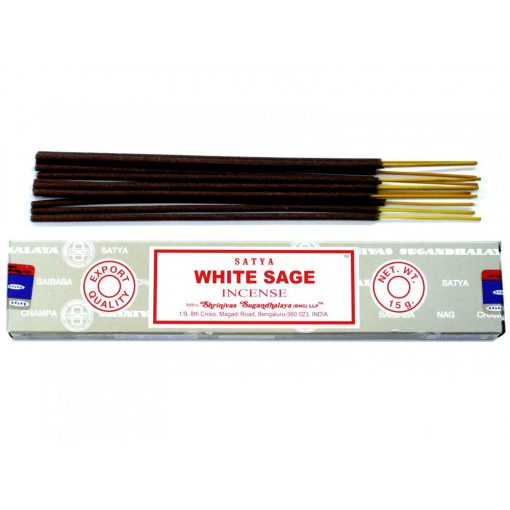 Satya Füstölőpálcikák15gm - Fehér Zsálya