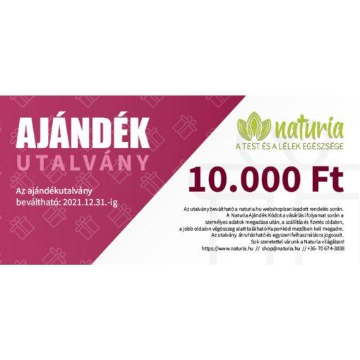 Naturia Ajándékutalvány 10.000 Ft