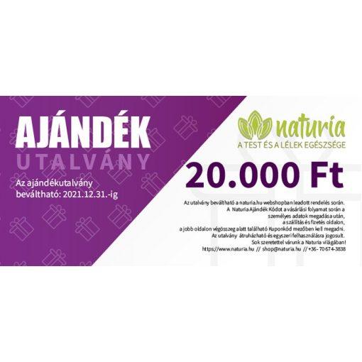 Naturia Ajándékutalvány 20.000 Ft
