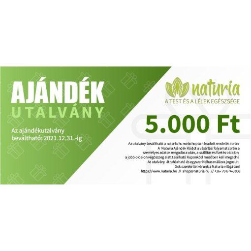 Naturia Ajándékutalvány 5000 Ft