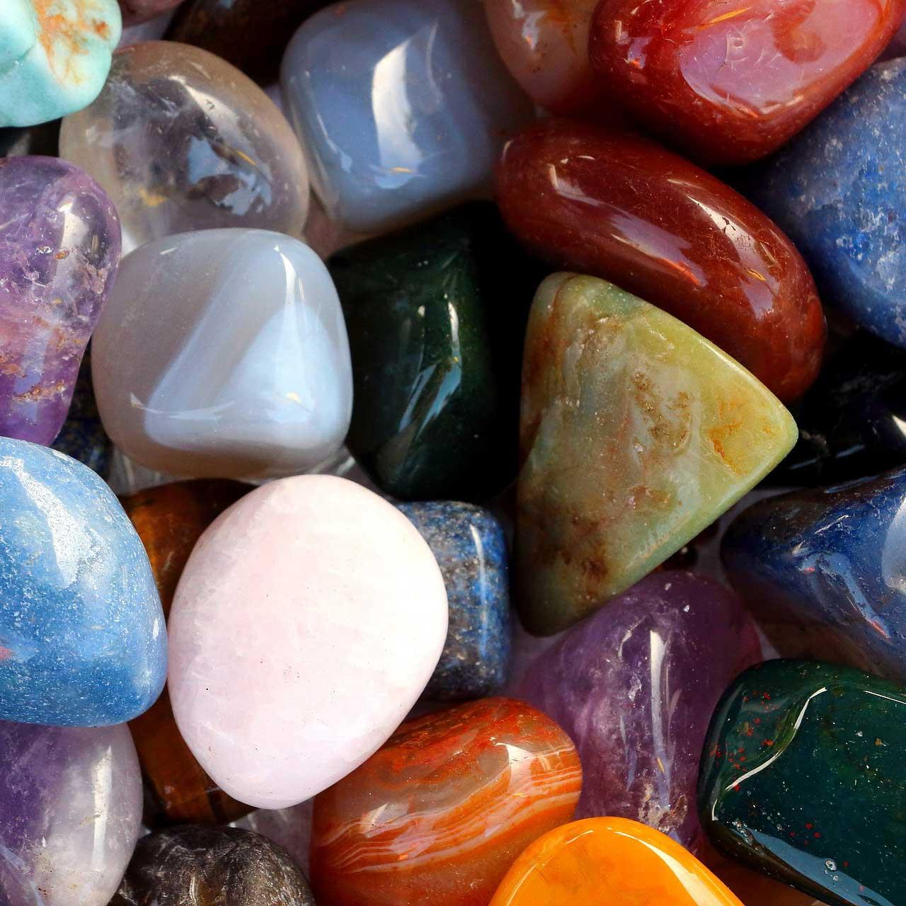 Az ásványok nem mindennapi használata